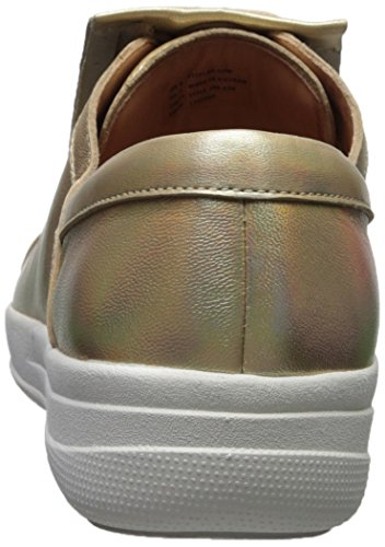 Para 536 Iridescent Ii Dorado gold De Lace Mujer Fringe Tm F sporty Up Cordones Fitflop Zapatos Derby PHFqRSawW