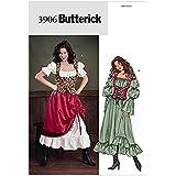 Butterick Patron de couture pour femmes - 3906 Déguisement historique