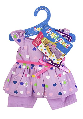 Fibre Craft Springfield Collection Purple Pajama Outfit - Fits All 18-Inch Dolls - Mix and Match! - for Ages 4 and Up