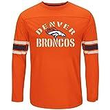 Denver Broncos Majestic NFL Corner Blitz Long Sleeve Shirt - Orange