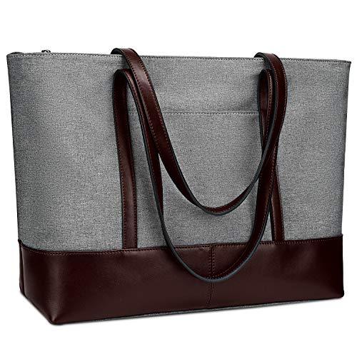YALUXE Genuine Leather Shoulder Capacity