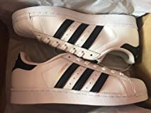 This is a fake shoe. The Adidas women superstar ...