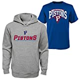 NBA Detroit Pistons Boys 8-20 Tee & Hoodie Set, Large (14-16), Assorted Color