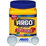 Argo Cornstarch Powder Bulk 16 Ounce Resealable - with Argo Measuring Scoop