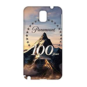 WWAN 2015 New Arrival paramount 100th anniversary 3D Phone Case for Samsung NOTE 3