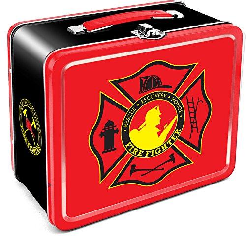 Aquarius Firefighter Large Tin Fun Box ()