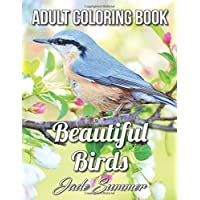 Beautiful Birds: An Adult Coloring Book with 50