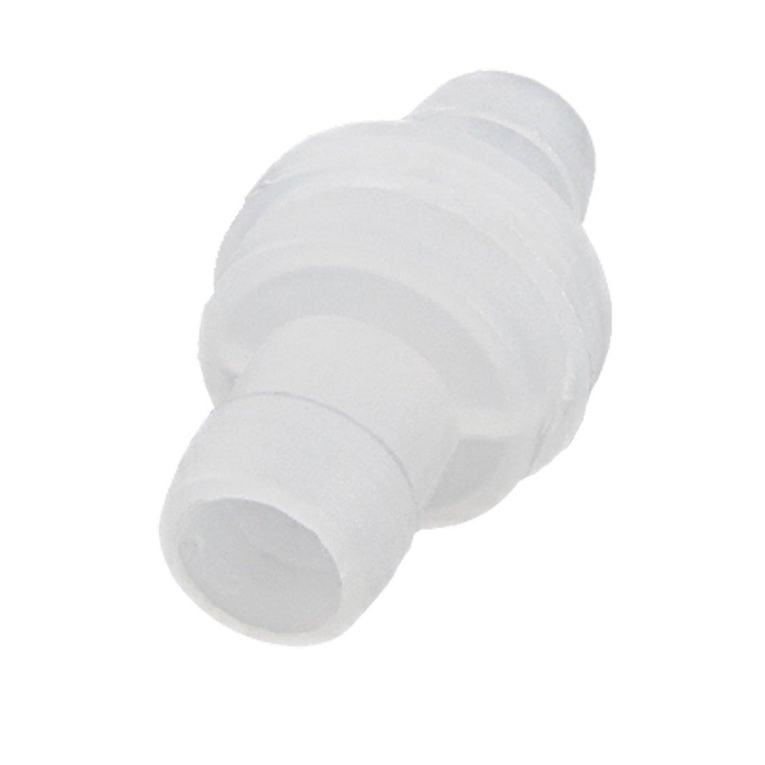 mécanique Fixation Plastique cannelé anti-retour Clapet anti-retour Sourcingmap a11093000ux0820