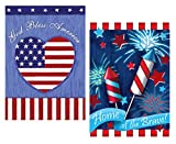 Toland Home Garden Small (12.5×18 Inch) Flag 3 Pack – Valentine Heart & Flowers – St. Patrick's Hat & Shamrocks – Happy Easter Rabbit Tail – 3 Items Bundled by Maven Gifts Review