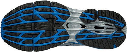 Mizuno Men's Wave Prophecy 7 Running Shoes Grey (Tradewinds/Divablue/Black 24) QrprIv