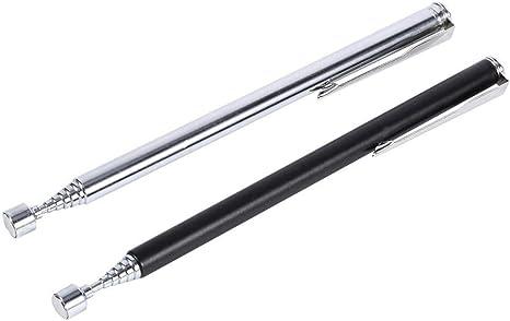 Magnetic Pickup Tool 2lb pickup Pocket Pen Style Extendable Telescopic Freepost!