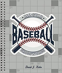 Wondrous All Star Baseball Crosswords David J Kahn 9781454930037 Home Interior And Landscaping Elinuenasavecom