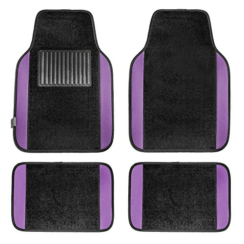 purple car floor mats - 1