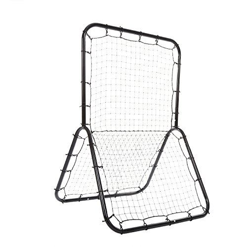 YUEBO Multi-sport Baseball Softball Rebounder Pitch Back Screen 6 x 4 ft Return Trainer