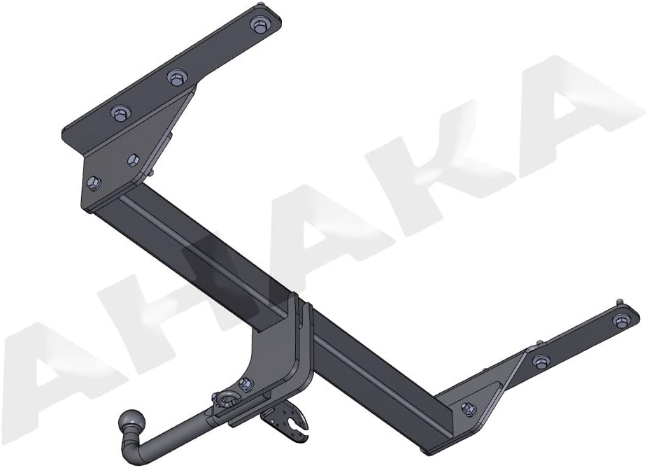 /2007/Trailer Tow Hitch Mount/ /fixed Towing Hitch with Screwed-On Spherical Head AHK 13/Pin Wiring Kit For Jeep Cherokee 2001/