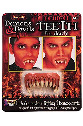 Forum Novelties Demon Teeth Accessory-, Standard -