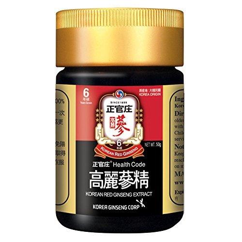 KGC Cheong Kwan Jang Korea Red Ginseng Concentrated Extract 50g from 6 Years Old Korean Ginseng Root by Cheong Kwan Jang by Cheong Kwan Jang (Image #1)