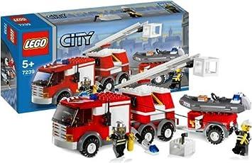 LEGO City Bomberos 7239 - Camión de Bomberos (Ref. 4519616): Amazon.es: Juguetes y juegos