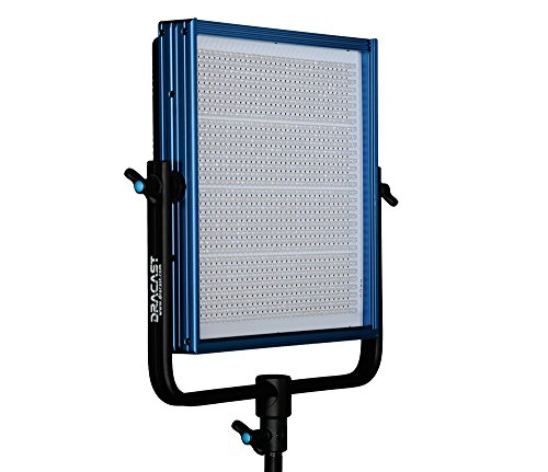 Dracast DRPL-LED1000-BV/G LED1000 PLUS Series Bi-Color Adjustable, V-Mount, Gold Mount Battery Plate (Blue)