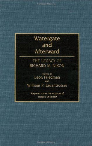 Download Watergate and Afterward: The Legacy of Richard M. Nixon (Contributions in Political Science) Pdf