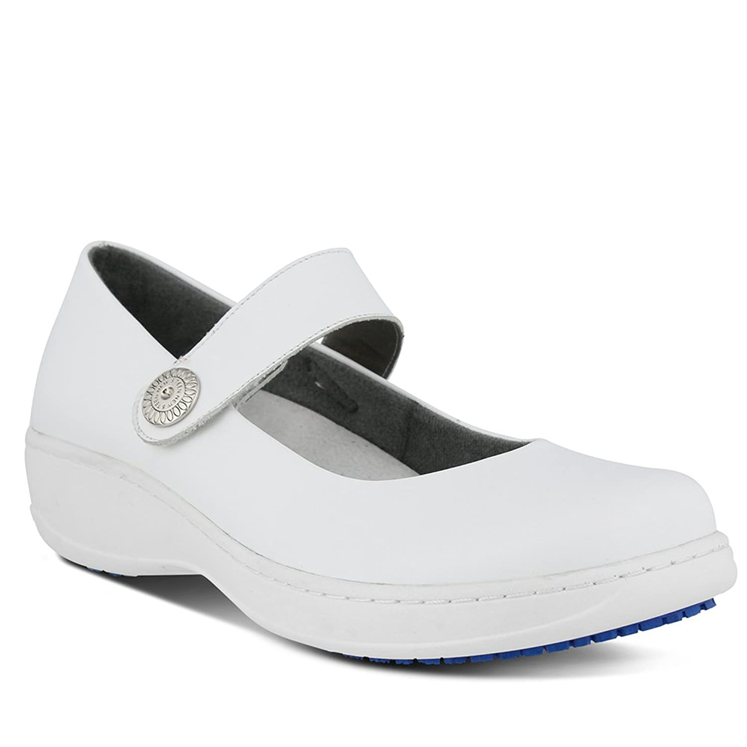 Spring Step Professional Womens Wisteria Vibe Shoe, WHITE, Size - 9.5