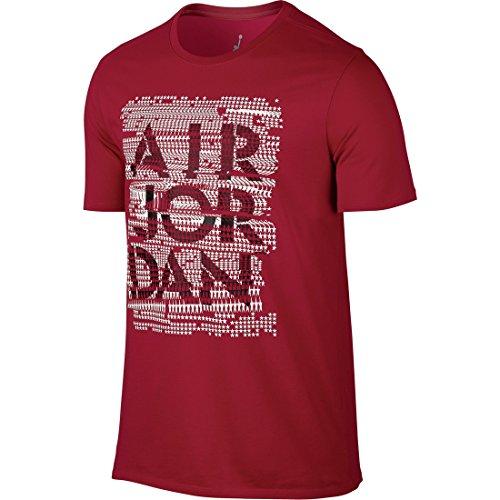 Nike AJ 4 All-Stars Tee - Camiseta para hombre Rojo / Negro