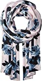 Kate Spade New York Women's Night Rose Silk Oblong Scarf Rose Dew One Size