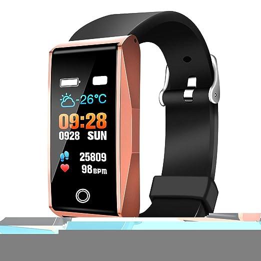 WEIHONG Pantalla Reloj Inteligente Lenovo Lemei RHB01 Versión Global Bluetooth 5.0 Pulsera Inteligente, Soporte podómetro/frecuencia cardíaca/presión ...