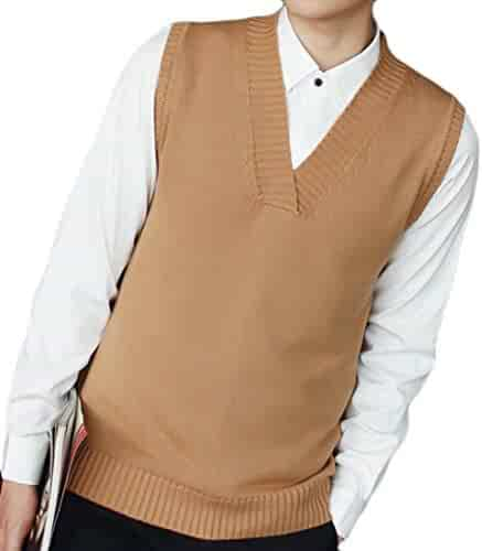 fe9ec23e8f4a6 Shopping Browns - Vests - Sweaters - Clothing - Men - Clothing ...