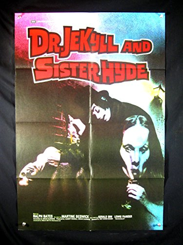 DR. JEKYLL & SISTER HYDE-1971-POSTER-RALPH BATES-HORROR NM