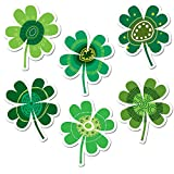 Creative Teaching Press 6-Inch Designer Cut-Outs, Shamrocks (3882)