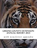 Greene County Extension Annual Report 2013, David Burton, 1494962004