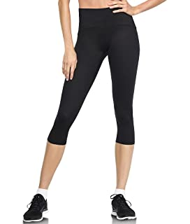 77929eb1a2 Spanx Active Women's Shaping Compression Knee Pant Black Pants at ...