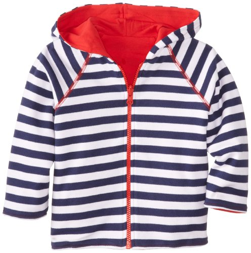 Reversible Zip Hoody Sweatshirt - 5