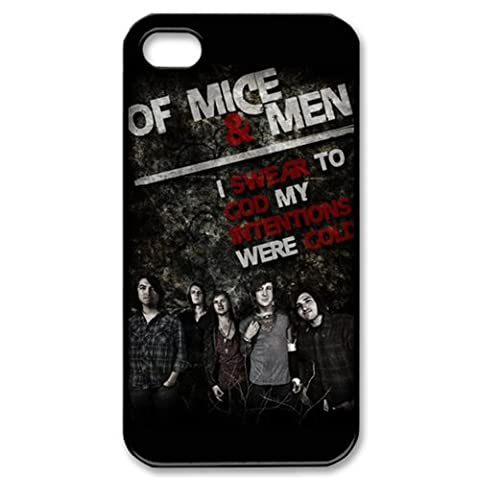 phone covers Music Band Series Protective Snap-on Hard Back Case Cover for iphone 5c - 1 Pack - Of Mice and Men Band - (5c Of Mice And Men Case)