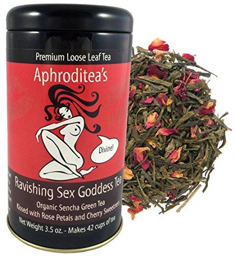 Aphroditeas Ravishing Sex Goddess Tea (Cherry Rose Green Tea)
