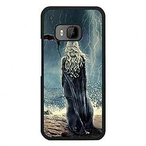 Daenerys Targaryen with Dragon Htc One M9 Slim TPU Funda,HBO Hit TV Game of Thrones Fashionable Phone Funda for Htc One M9