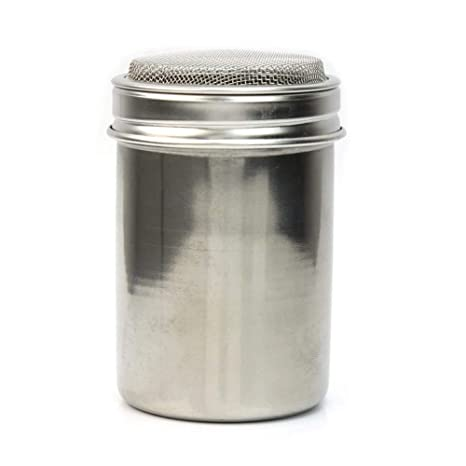 Amazon.com: Spice Shaker - Silver Stainless Steel Mesh Tube ...