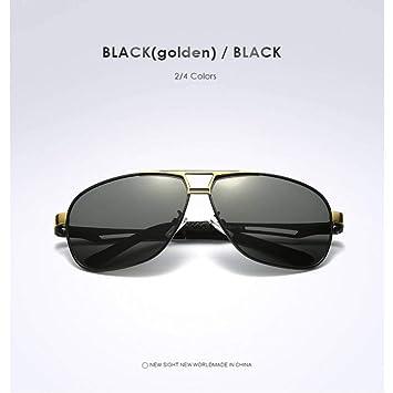 TJJQT Gafas de Sol HD Gafas de Sol polarizadas para Hombres ...