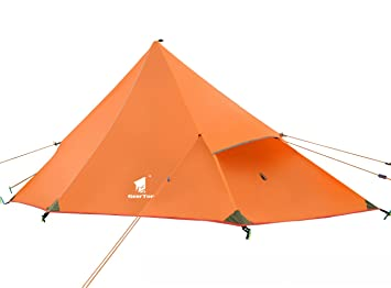 GEERTOP 1-person 20D Ultralight Fly Tent Sunshade Rain Shelter For C&ing Hiking Climbing  sc 1 st  Amazon UK & GEERTOP 1 Person 3 Season 20D Ultralight Backpacking Lightweight ...