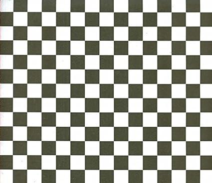 Amazon 12x12 Paper Blackwhite Checkered 6 Sheets