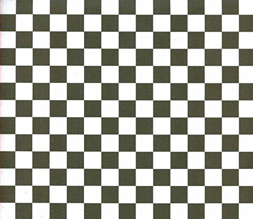 12x12 Paper - Black/white Checkered 6