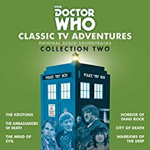 Doctor Who: Classic TV Adventures Collection Two: Six full-cast BBC TV soundtracks Radio/TV Program by Robert Holmes, David Whitaker, Don Houghton Narrated by Patrick Troughton, Jon Pertwee, Tom Baker