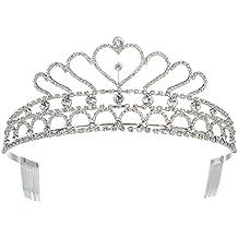 FUFENG CROWN Little Angel Princess Tiaras Queen Crowns