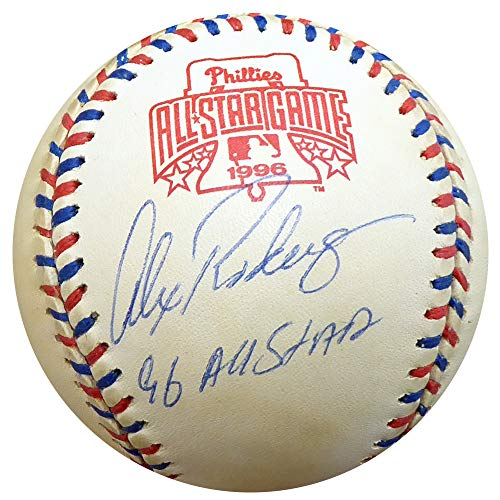 Alex Rodriguez Signed Auto Official 1996 All Star Game Baseball Seattle Mariners 96 All Star - Beckett Certified