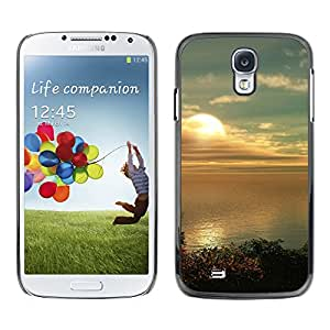 Paccase / SLIM PC / Aliminium Casa Carcasa Funda Case Cover - Sunset Beautiful Nature 80 - Samsung Galaxy S4 I9500