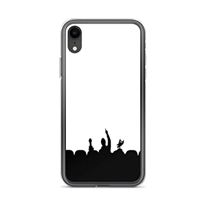 Amazon.com: Funda transparente para iPhone X/XS, XR, XS Max ...