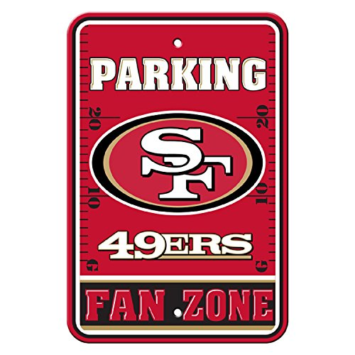 Flagpole To Go NFL San Francisco 49Ers Parking Sign ()