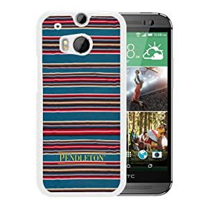 Pendleton 02 White HTC ONE M8 Cell Phone Case Beautiful And Fashionable Case