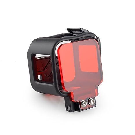 Carcasa protectora integrada Marco con filtro rojo para ...
